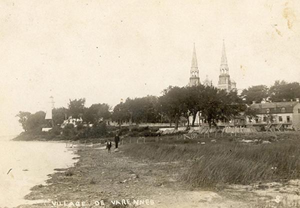 La paroisse en 1916