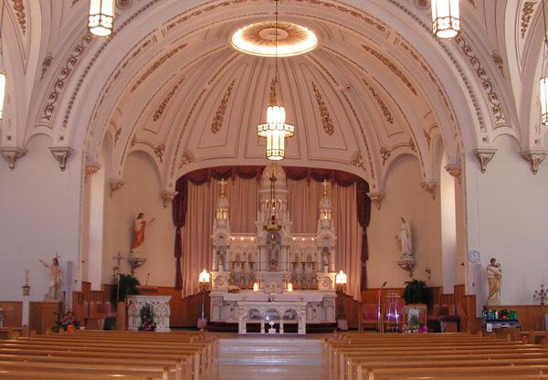 Ste-Trinité, église de Contrecoeur